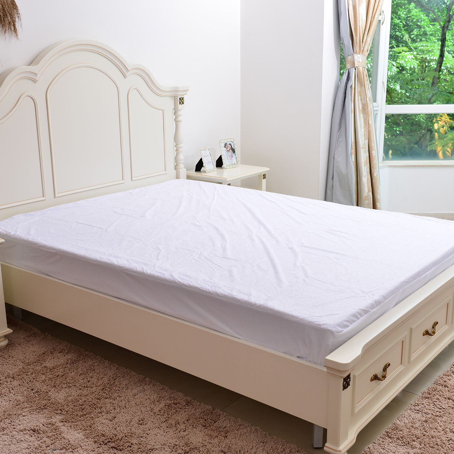 72 Bamboo And 28 Polyester Terry Mattress Protector