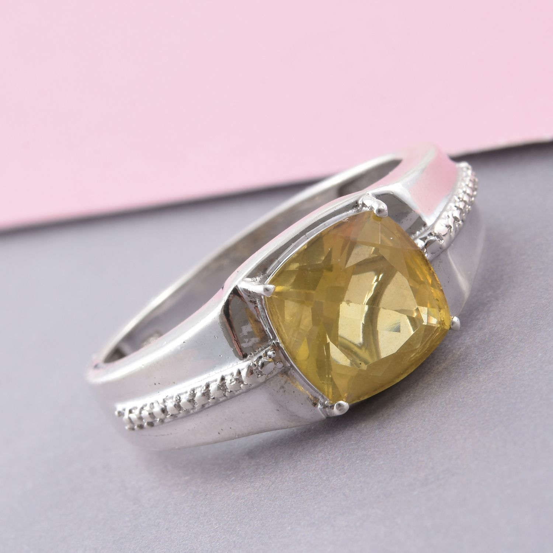 Mens Fluorite Ring