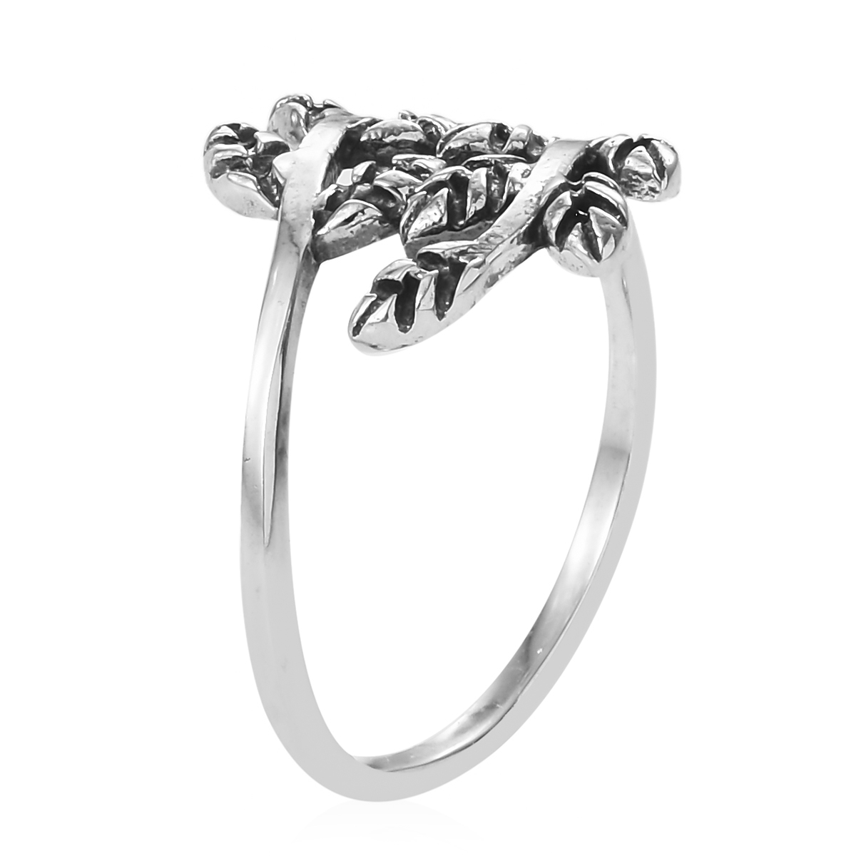 artisan crafted sterling silver leaf ring size 10 3 3 g Pandora Leaf Ring artisan crafted sterling silver leaf ring size 10 3 3 g