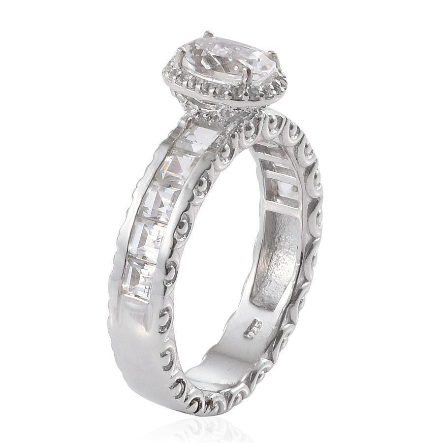 Goshenite Sterling Silver Ring