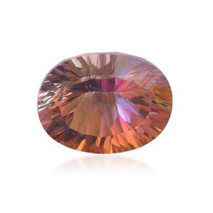 Northern Lights Ecstasy Topaz (Ovl 10x8 mm) TGW 3.01 Cts.