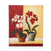 Orchid Texturized Print (23.5x19.5 in)