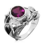 Bali Legacy Collection Radiant Orchid Quartz (Ovl) Ring in Sterling Silver Nickel Free (Size 6) TGW 2.640 cts.