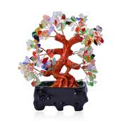 Multi Color Glass, Chroma Decorative Tree (4.5 in)