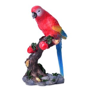 Parrot Resin Decorative Accent Statue