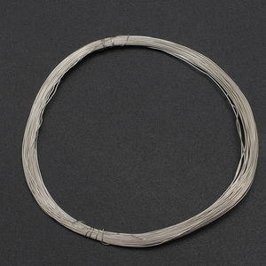 Gem Workshop Silvertone Wire (Approx 10 mtr, 0.04 mm)