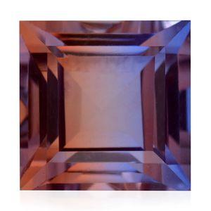 Midnight Cocoa Quartz (Sqr 15 mm) TGW 17.40 cts.