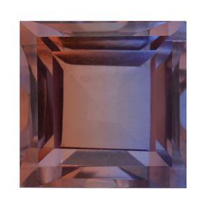 Midnight Cocoa Quartz (Sqr 13 mm) TGW 11.95 cts.