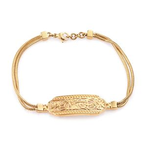 KARIS Collection - ION Plated 18K YG Brass Bracelet (7.50 In)