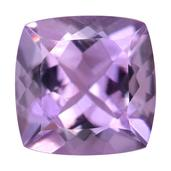 Rose De France Amethyst (Cush 10x10 mm) TGW 2.90 Cts.
