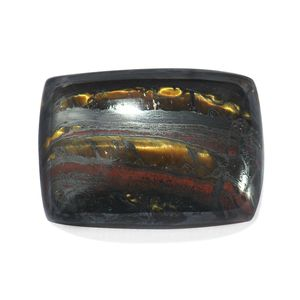 Tiger Iron (Cush 25x18 mm) TGW 37.02 Cts.