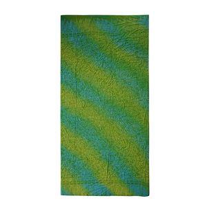 Green Motif Rayon Sarong (70.8x47.2 in)
