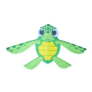 Sea Turtle Kite with 100ft Line & Handle (1x32x58 in)
