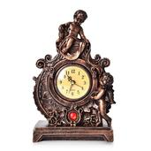 Resin Clock (10.63x6.49x3.22 in) (AA Batteries Not Included)