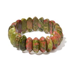Unakite Bracelet (Stretchable) (6.00 In) TGW 359.00 cts.