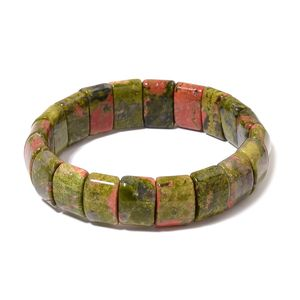 Unakite Bracelet (Stretchable) (6.00 In) TGW 262.00 cts.