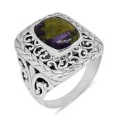 Bali Legacy Collection Tasmanian Stichtite Sterling Silver Ring (Size 9.0) TGW 5.35 cts.