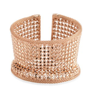 Goldtone Widen Mesh Cuff (6.00 In)