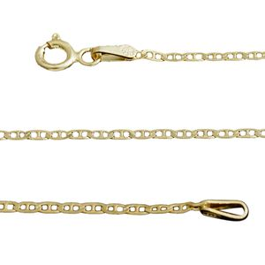 14K YG Over Sterling Silver Mariner Chain (30 in, 2.8 g)