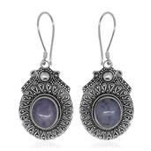 Bali Legacy Collection Utah Tiffany Stone Sterling Silver Earrings TGW 8.26 cts.