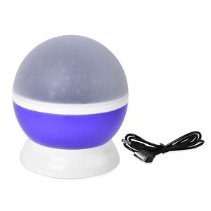 Purple Star Master Dream Rotating Projection Lamp (4x5 in) (Requires 3 AAA Batteries Not Included)