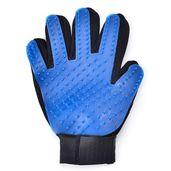 Set of 2 Pet Blue Deshedding Right Gloves (9.05x2.95 in)
