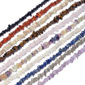 LC DIY Multi Gemstone Beads Set of 10 Strand (30-32 in) TGW 1938.00 cts.