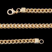 14K YG Over Sterling Silver Chain (26 in)