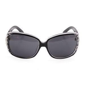 VOX- Clear Polarized 100% UV Protection Link Temple Rhinestone Sunglasses