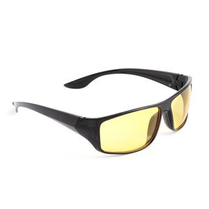 One Time Only UV400 Protection Yellow Lens Black Vision Sunglasses
