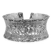 Bali Legacy Collection Sterling Silver Bracelet (8.00 In)