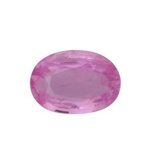 Madagascar Pink Sapphire (Ovl 7x5 mm) TGW 0.80 cts.