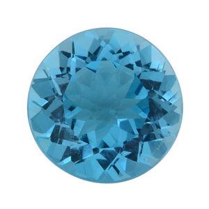 Swiss Blue Topaz (Rnd 15 mm) TGW 12.50 cts.