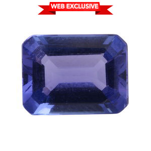 Tanzanite Octagon 9x7 mm 3A TGW 2.01 cts.