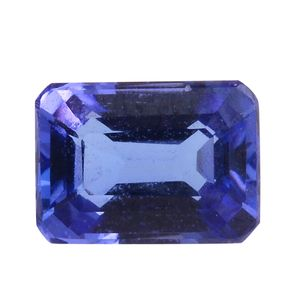 Tanzanite Octagon 7x5 mm 3A TGW 1.26 Cts.
