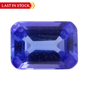 Tanzanite Octagon (7x5 mm 3A) TGW 0.76 cts.