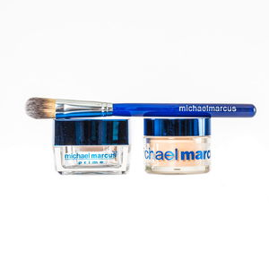 Michael Marcus 2 pc HD Powder (30 ml) and Prime with Brush (15 ml) (Medium)
