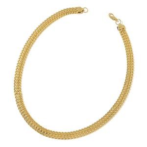 ION Plated YG Stainless Steel Curb Necklace (24 in)