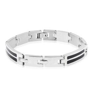 Enameled Stainless Steel Bracelet (8.00 In)