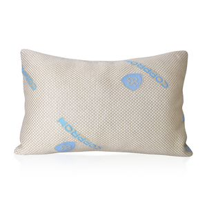 Homesmart Memory Foam Fiber Pillow with Copper Infused Pillow Cover (20x26 in)
