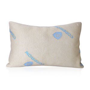 One Day TLV Home Textiles Copper Fiber Pillow with Shredded Memory Foam (20x30 in)