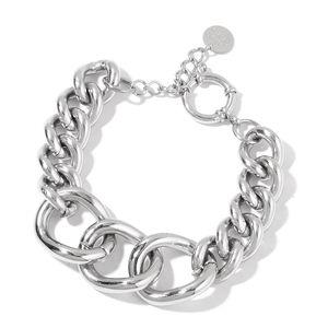 Stainless Steel Curb Bracelet (7.50 In)