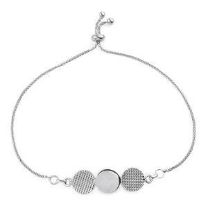 Artisan Crafted Sterling Silver Magic Ball Waves Bracelet (Adjustable) (3 g)