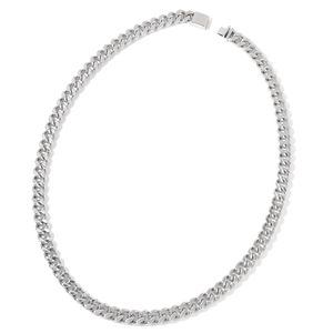 Stainless Steel Curb Chain Necklace (35 in)