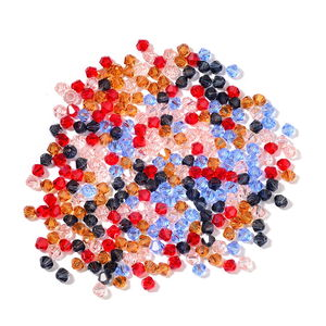 Gem Workshop Multi Color Glass Beads TGW 266.50 cts.