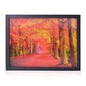 Home Decor Forest 3D Painting with Photo Frame (16.7x12.7 in)