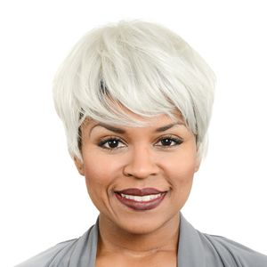 Easy Wear Hair Debbie Wig - Silver