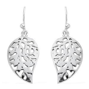 Sterling Silver Leaf Earrings (3.1 g)