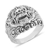 Bali Legacy Collection Sterling Silver Ring (Size 8.0)
