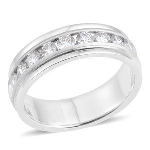 14K WG Diamond (H SI3) Ring (Size 10.0) TDiaWt 1.00 cts, TGW 1.00 cts.